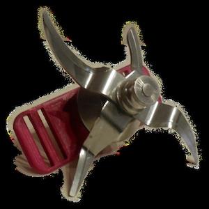 Spülmaschine Halterung  passend für Messer Monsieur Cuisine   teigblume Beere