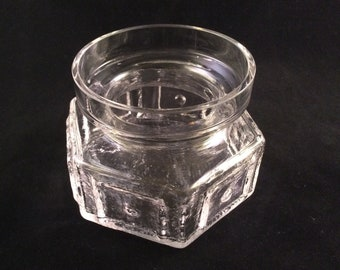 Able Dartington Glass Butter Plate Pottery, Porcelain & Glass