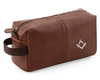 028f685a Masonic Wash bag, Freemasons gift or present