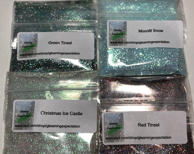 Christmas Glitter Bundle