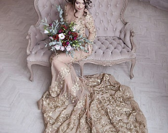 Nontraditional Wedding Dresses | Non Traditional Wedding Dress Etsy