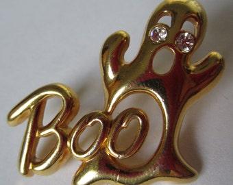 ceea0ea2da0 Vintage Avon Halloween Ghost Boo Tie Tack Pin Brooch