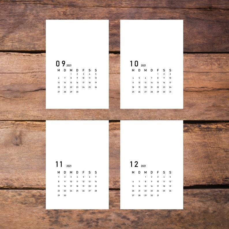 Kalender 2021 Selber Machen Kostenlos