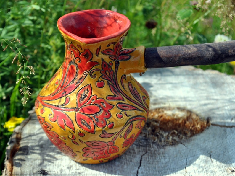Gift Ideas For Women Over 50 Who Has Everything Pottery Cezve Etsy