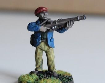 Figure of a civilian maquisard of the Second World War