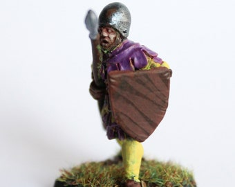 Norman middle-aged metal soldier for board games