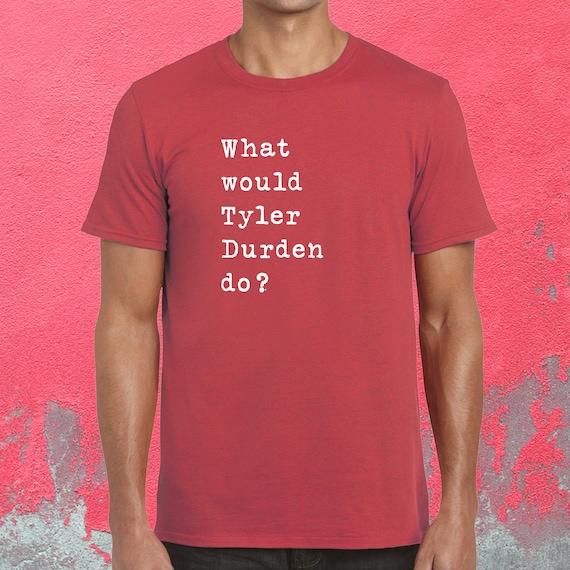 Fight Club Citation T Shirt Citation De Film Tyler Durden Etsy