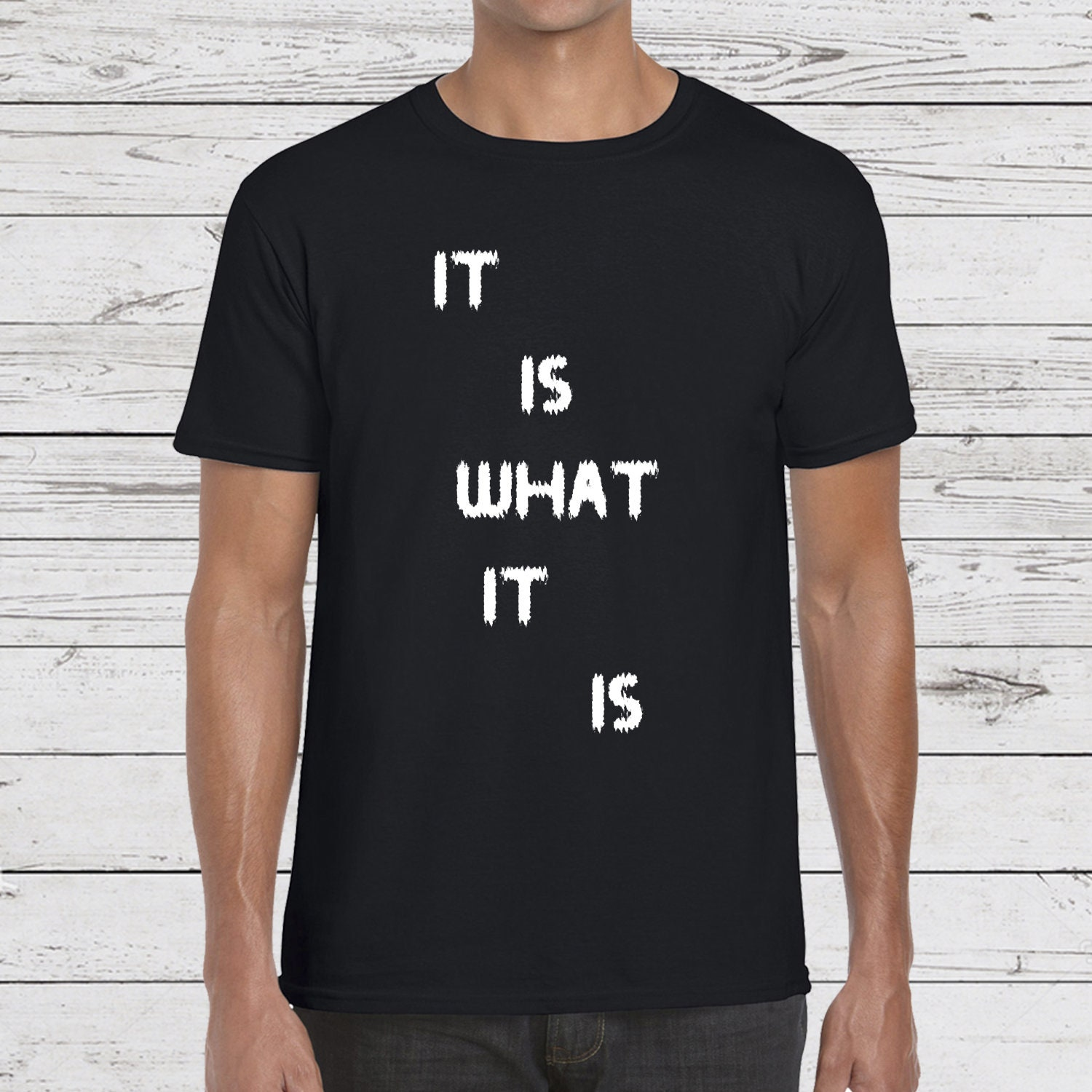 0a566be3 It is what it is T-shirt Zen quote funny T-shirt Yoga | Etsy
