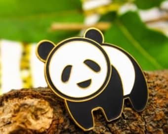 Super Cute Panda Pin Badge