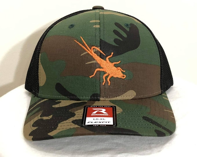 Trout Sniffer Flex-Fit Logo Cap (Camo/Black)