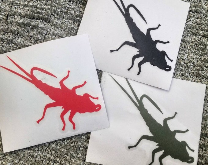 Trout Sniffer vinyl decal