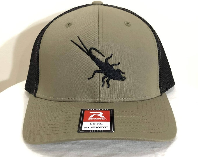 Trout Sniffer Flex-Fit Logo Cap (Olive/Black)