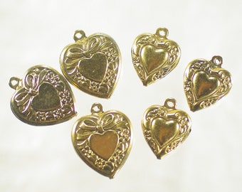 leap of faith limited edition vintage assemblage earrings artisan assemblage vintage winged parachute paratrooper link gold heart gf wires
