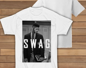 33df449bf794 SWAG Will Smith The Fresh Prince ETSYRHY08 White Unisex T Shirt Free UK  Delivery