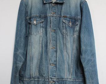 Vintage Ralph Lauren Polo Jeans Co Jean Trucker Jacket Sz L Large b8085245b6
