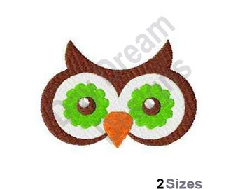 Owl Eyes - Machine Embroidery Design, Embroidery Patterns, Embroidery Files, Instant Download