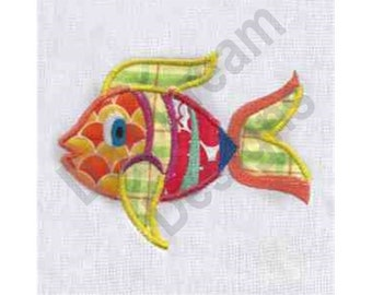 Fish scale applique etsy