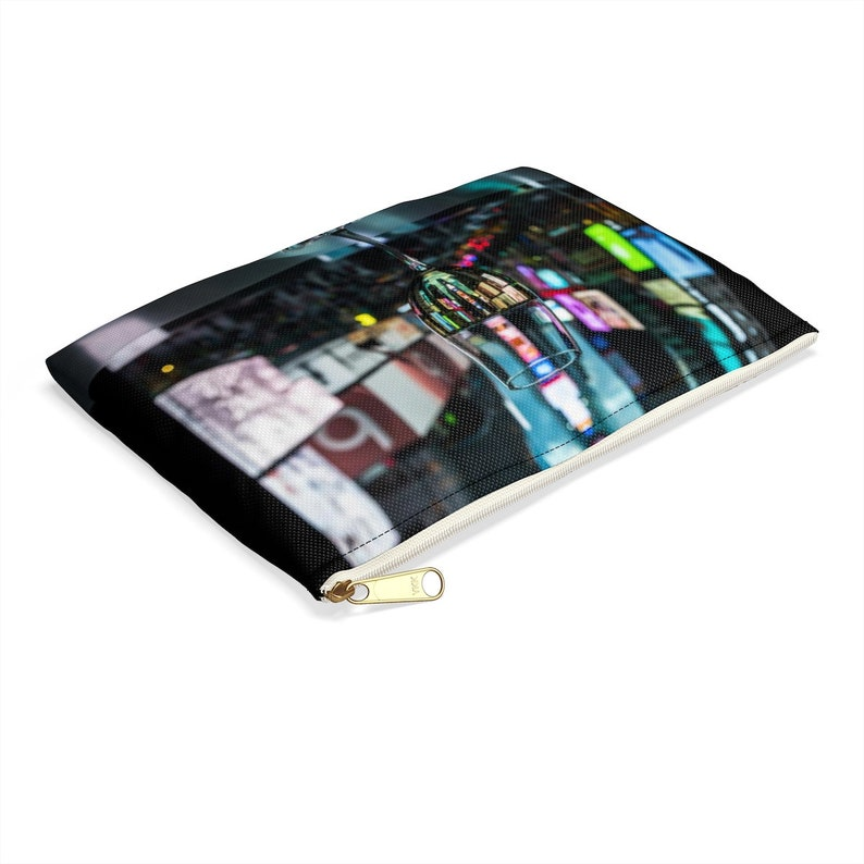 NYC Times Square Wine Glass Accessory Pouch
