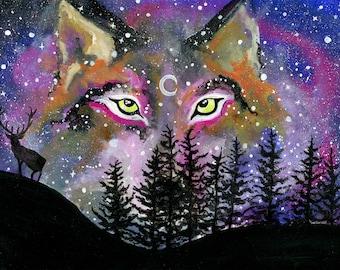 Fantasy Art Of Wolves