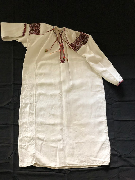 Antique/ Vintage Ukrainian dress. Pokuttya Region… - image 2
