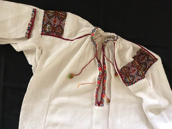 Antique/ Vintage Ukrainian dress. Pokuttya Region… - image 6