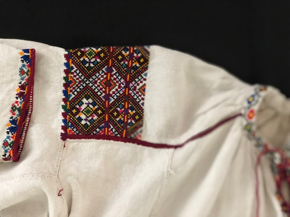 Antique/ Vintage Ukrainian dress. Pokuttya Region… - image 5