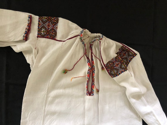 Antique/ Vintage Ukrainian dress. Pokuttya Region… - image 4