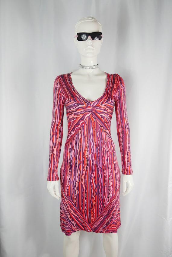 70s silk dress