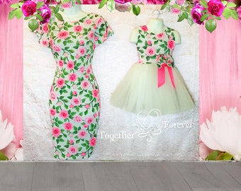 9fcbf452fc5 Mother Daughter Matching Dresses