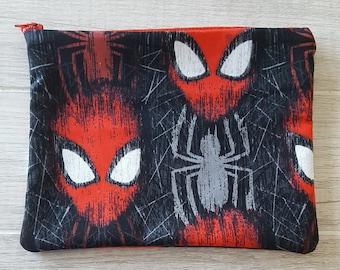 cbb61cb04297 Spiderman makeup bag | Etsy