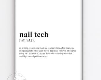Nail Technician Nail Quote Salon Quote Spa Salon Etsy