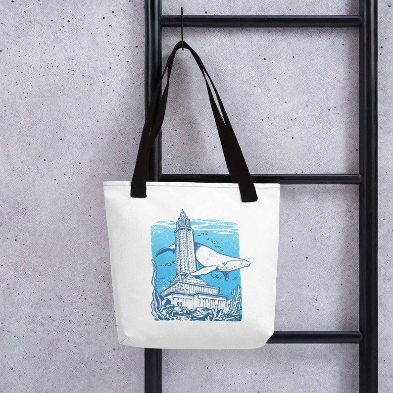 Always Sunny in LH Place under the Sea 1 bag tote bag design black /& white 38 x 38-10 liters