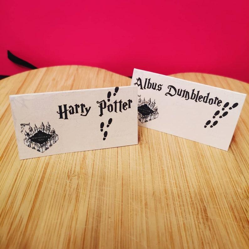 Harry Potter Marauders Kaart Thema Plaatsnamen Plaats image 0