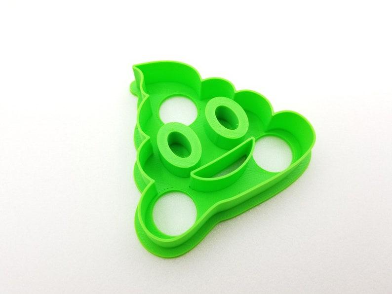 Poop Emoji Cookie Cutter  Poop Emoji Fondant Cutter  Poop image 0