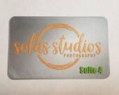 Personalized Name Plaque | 3D Name Plaque | Logo Plaque | Logo Name Plaque Office | Logo Sign | Name Plate | Business Name Plaque