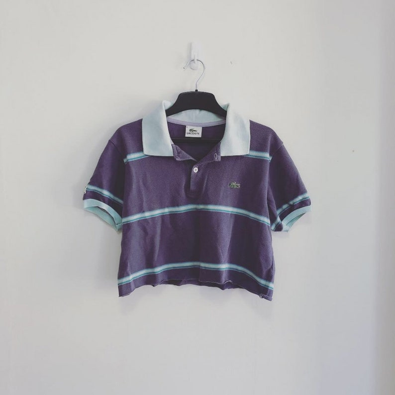 5ed2871d4c733 Lacoste Women's Polo Crop