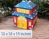 Toy Store Putz House Kit 3D Printed DIY Christmas Village
