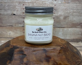 Banana Nut Bread| Soy Candle | Candles