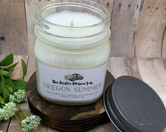 Oregon Summer || Soy Candles || Hand Poured