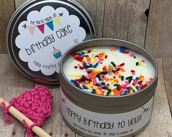 Birthday Candle || Birthday Gift || Soy Candle || Handmade || Candles
