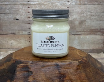Toasted Pumpkin | Soy Candle | Candles
