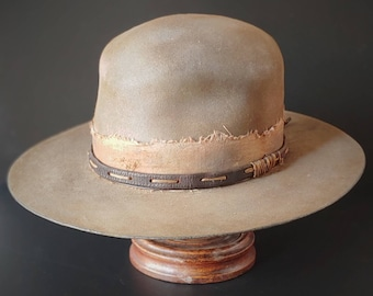 """Cowboy hat size 7 3/8. The """"Oklahoma Gunslinger"""" from Ugly Outlaw."""
