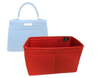 1ddd15369cbac Hermes Kelly 25 Bag Organizer   Liner - Made by Zoomoni