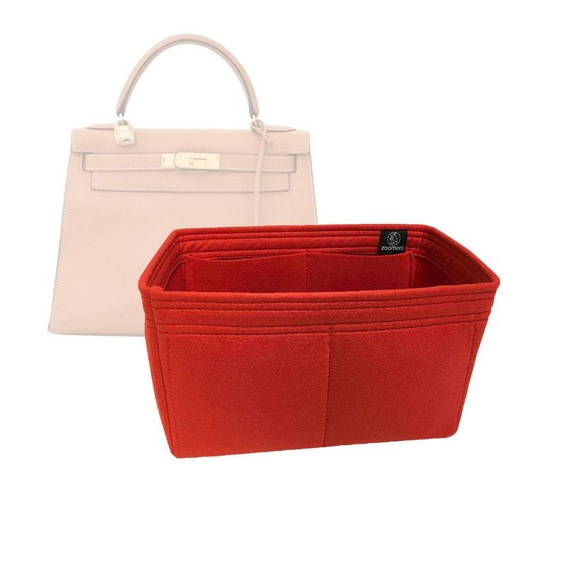 702c3340a7 Hermes Kelly 28 Bag Organizer / Base Shaper Made by Zoomoni | Etsy