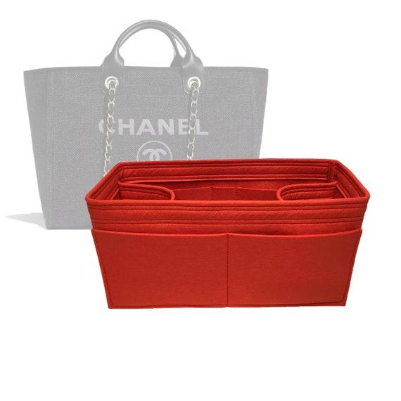 95ff240e26 Chanel Deauville Tote Medium Bag Organizer Made by Zoomoni   Etsy