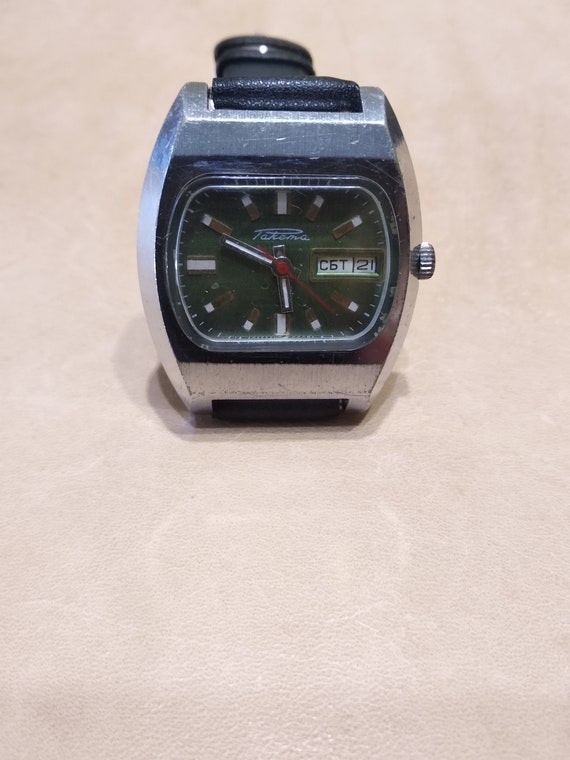 Vintage russian Watch Rocket, PChZ, made in the US