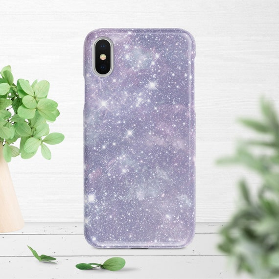 Iphone Xs Case Pale Purple Galaxy Stars Iphone Xr Case Iphone Xs Max Case Iphone X Case Iphone 11 Pro Case Iphone 8 Case Iphone 7 Case
