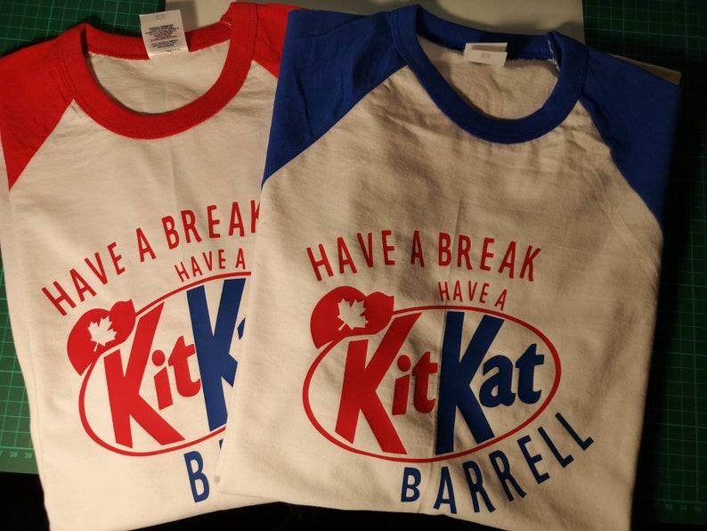 Kit Kat Barrell long sleeve tee