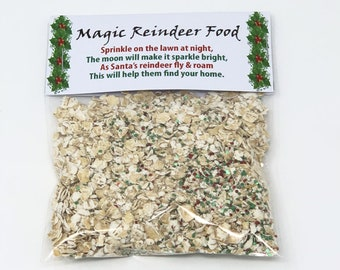 Reindeer Food - Christmas Eve Box Fillers - Ideal stocking filler or fun christmas gift idea