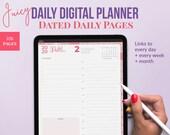 Juicy Digital planner GoodNotes 5. 2020 planner.  Digital Life Planner. Daily Planner, digital notebook, plus bonus stickers. Ipad planner